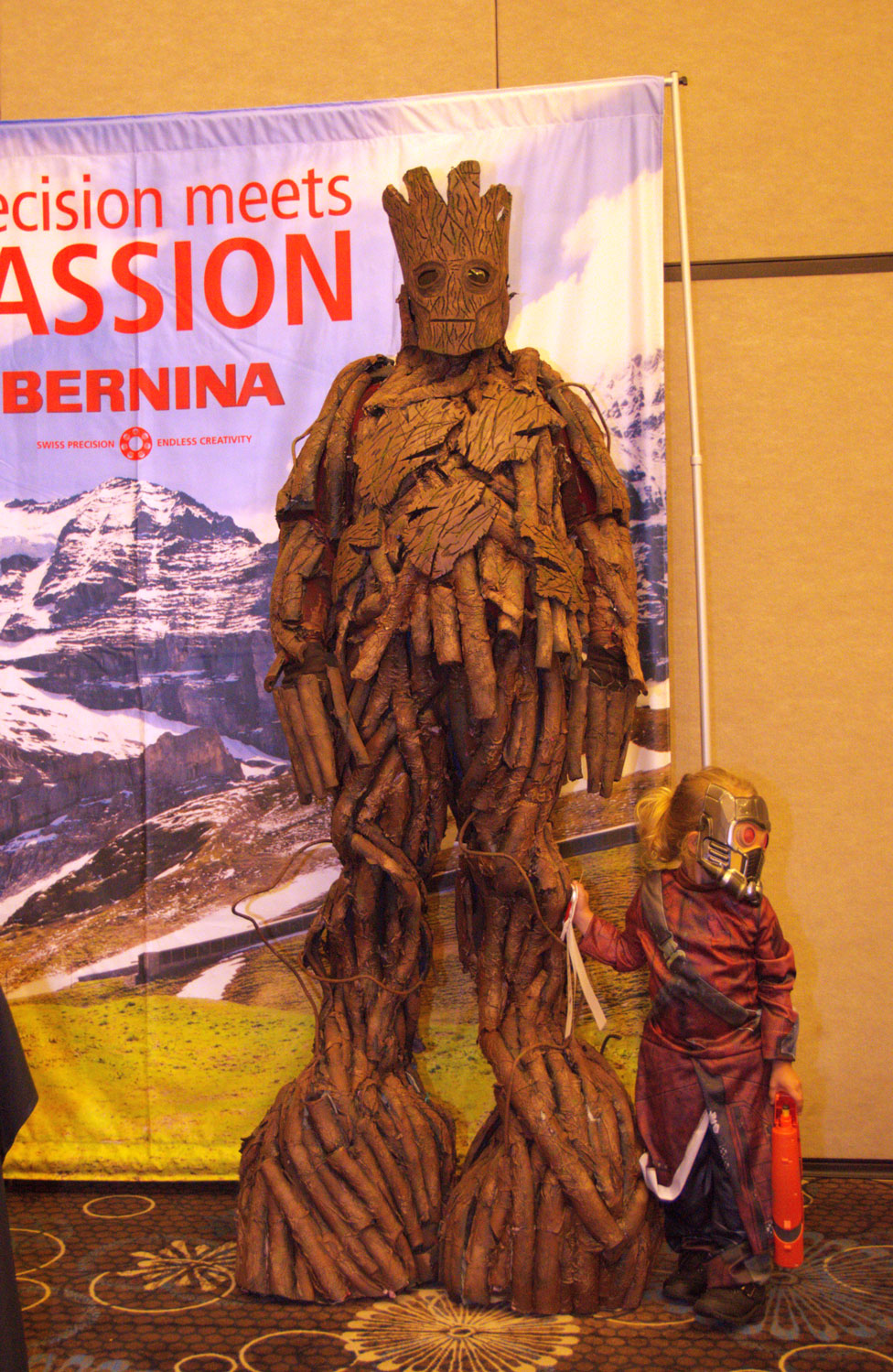 """Groot and Star Lord"" by Alexis Bailey SoonerCon 25 Best of Show"