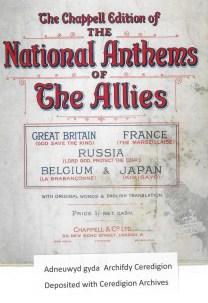 1914 WW1 Week 19 national anthems