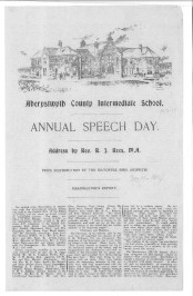 1914 WW1 week 20 speech day