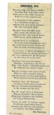 1914 WW1 week 22 Xmas 1914