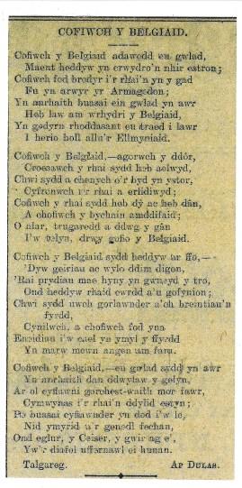 1915 WW1 week 25 Cofiwch