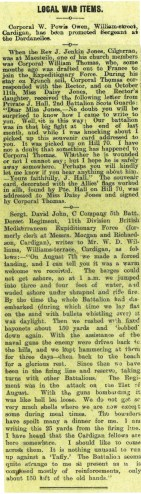 1915 week 67 CTA 5-11-15 Local war items