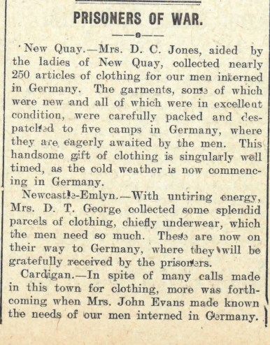 1915 week 67 CTA 5-11-15 Prisoners of War