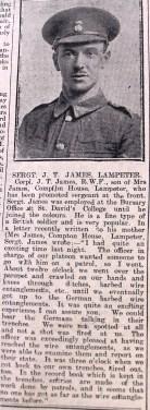 1916 week 79 CN 4-2-16 Sergt James Lampeter