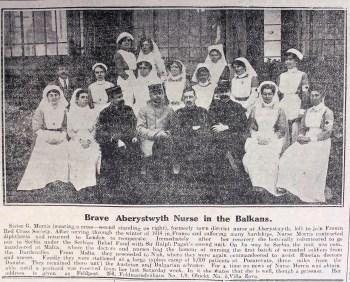 1916 week 80 CN 11-2-16 Aberystwyth nurse