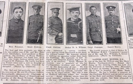 1916 week 84 CN 10-3-16 Aberystwyth portraits