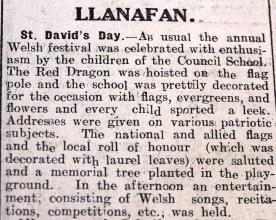 1916 week 84 CN 10-3-16 Llanafan
