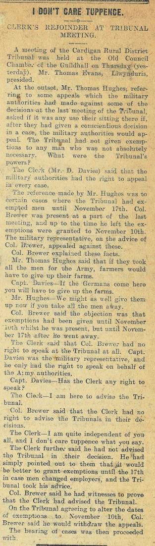 1916 week 84 CTA 10-3-16 Tribunal meeting