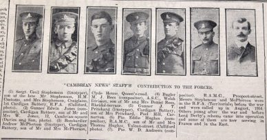 1916 week 86 CN 24-3-16 Cambrian News staff