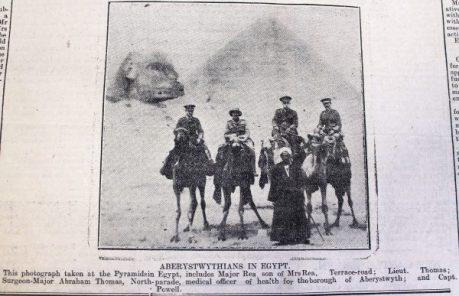 1916 week 88 CN 7-4-16 Aberystwythians in Egypt