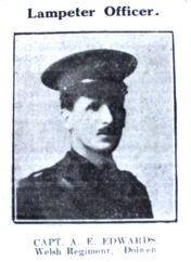 1916 week 99 CN 22-6-16 Lampeter officer