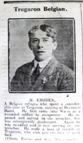 1916 week 101 CN Tregaron Belgian