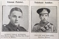Llanon patriot and Talybont soldier resized