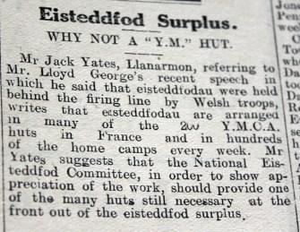 Eisteddfod surplus resized
