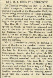 Rev Rees rez