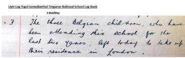 Tregaron National school Log Book edited