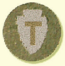 Insignia of the 36th Division Texas-Oklahoma National Guard Fought at Blanc Mont in WWI