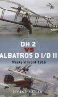 DH2 vs Albatross DI-DII Western Front 1916