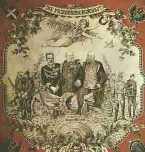 'Peace pledge' of  the Triple Alliance