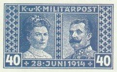 Austrian commemorative postage stamp