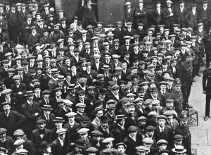 British recruits 1914