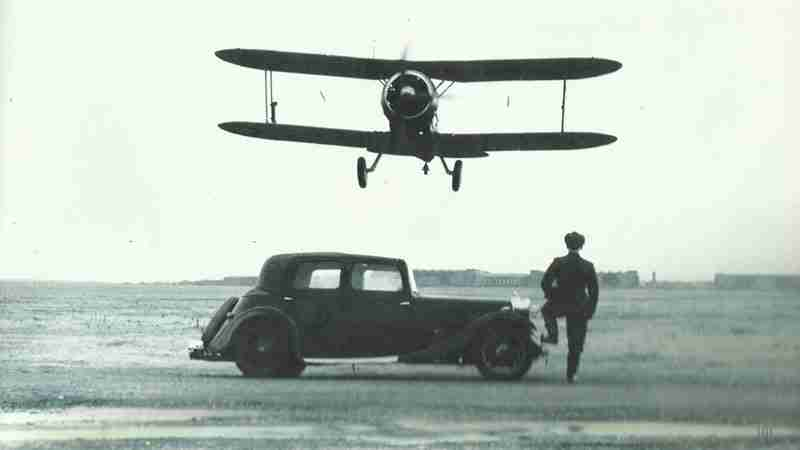 Gloster Gladiator launching