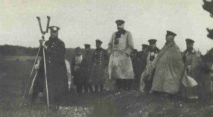 German Army staff during the Battle of Tannenberg