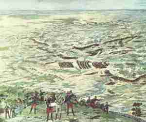 Panorama of the Battle of the Marne