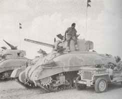 British Sherman II at Alamein