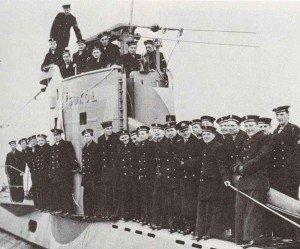 Personnel of the Polish submarine Sokol