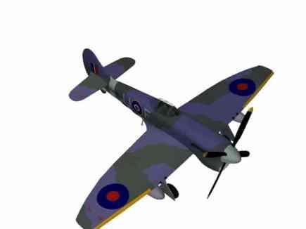 3d model Hawker Tempest Mk V