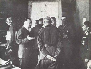 Briefing at the Fuhrer-Headquarter in summer 1942