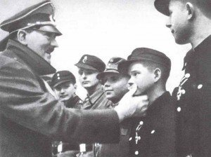 One of the last pictures of Hitler