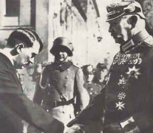 Chancellor Hitler and President Hindenburg