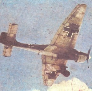 Ju 87 Stuka in the time of the Battle of Britain