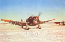 Snow camouflaged Junkers Ju 87 B dive bomber