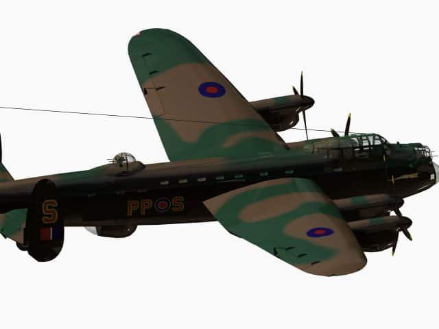 3d model Avro Lancaster