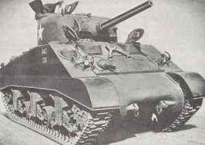 Standard production M4A3 Sherman