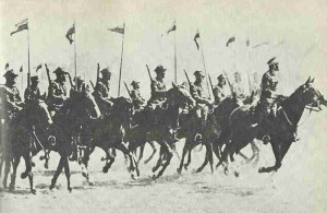 Polish cavalry charges 1939
