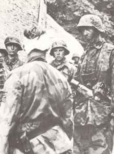 Soldiers of 12th SS Hitlerjugend division in Normandy
