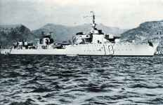 French fast fleet destroyer Le Fantasque