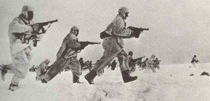 Russian infantry assault winter 1941-42