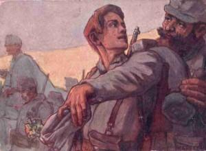 Austrian war postcard