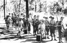 British and Gurkha troops