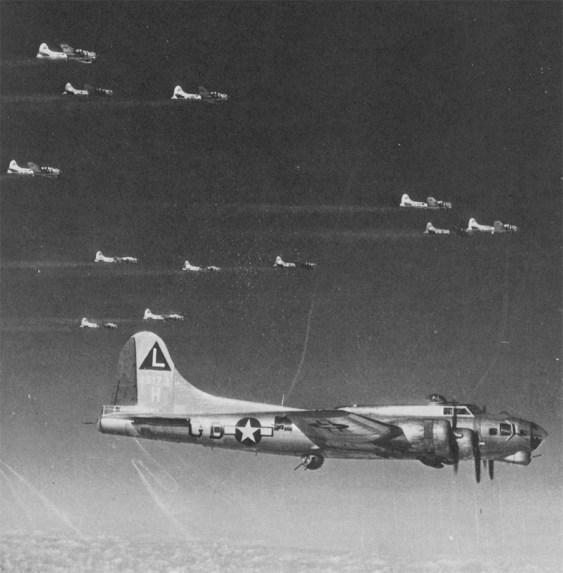 B-17G of 381stBG 1944