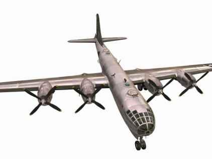 3D model of B-29 Superfortress