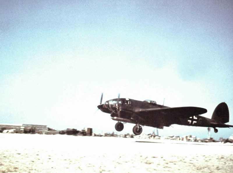 He 111 torpedo bomber