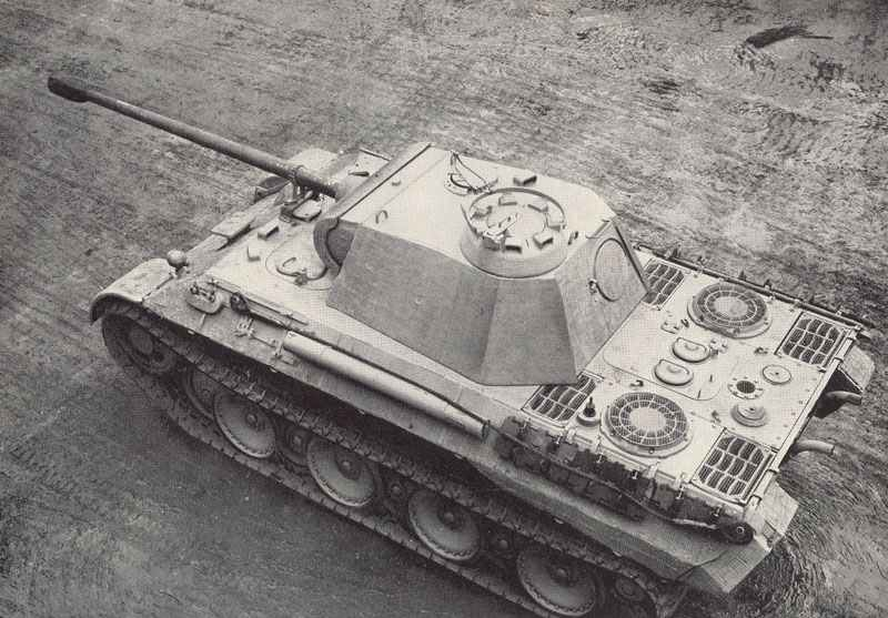 Panther tank Ausf A