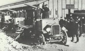 Russian motorized artillery unit