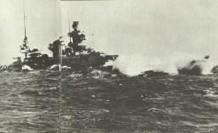 Scharnhorst in heavy seas